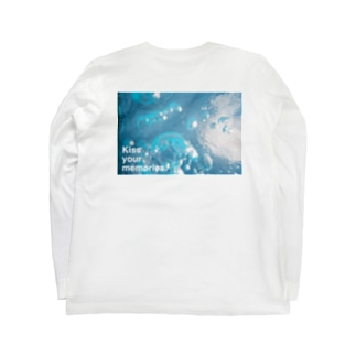 """summer of ring"" back print Long sleeve T-shirts"