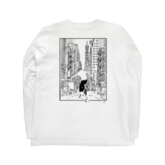 """LEAP"" Long sleeve T-shirts"