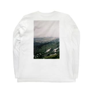 山岳信仰 Long sleeve T-shirts
