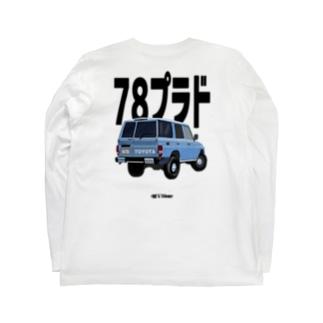 ランクル 78プラド Long sleeve T-shirts