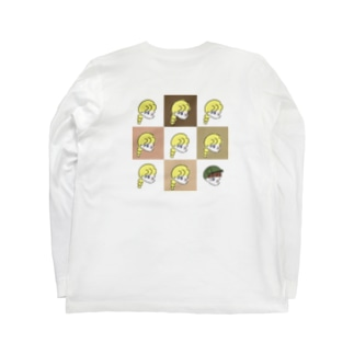 Emily バックブロックVer. Long sleeve T-shirts