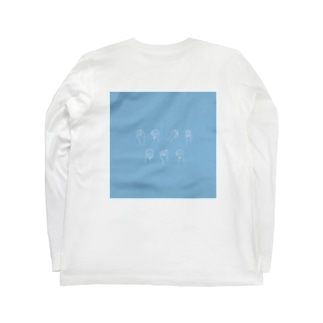 PPP_blue Long sleeve T-shirts