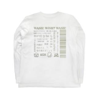 洗濯し Long sleeve T-shirts