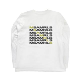 Ms Amaryllis のMs Amaryllis Width logo Long sleeve T-shirts