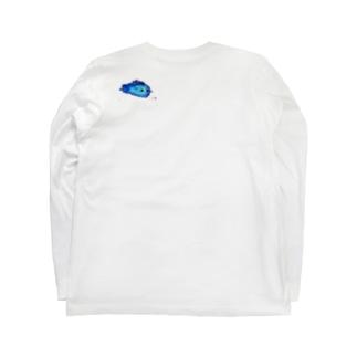 青いほしあめちゃん Long sleeve T-shirts