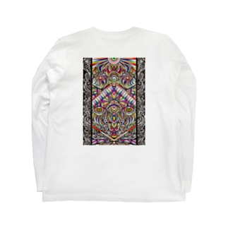 Facing eyes 'color' Long sleeve T-shirts