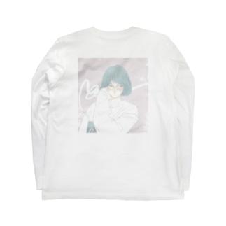 city girl (背面) Long sleeve T-shirts