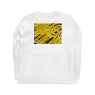inase skoolのinaseTp no.3 Long sleeve T-shirtsの裏面