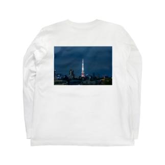 スカイツリー Long sleeve T-shirts