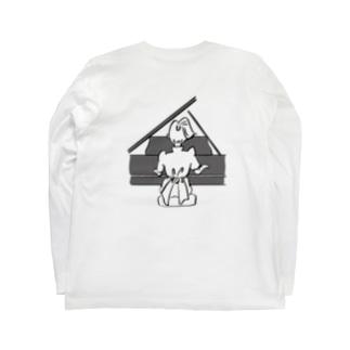 名言ロゴT(ピアノ) Long sleeve T-shirts