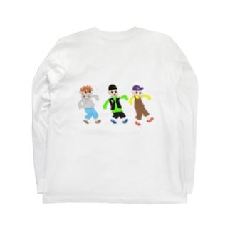 ヤング三兄弟 Long sleeve T-shirts