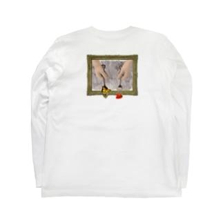 【背面】あなたが望むもの Long sleeve T-shirts