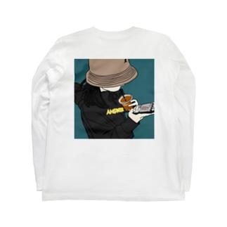 バケハgirl Long sleeve T-shirts