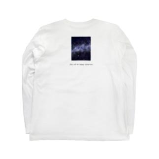 星空 Long sleeve T-shirts