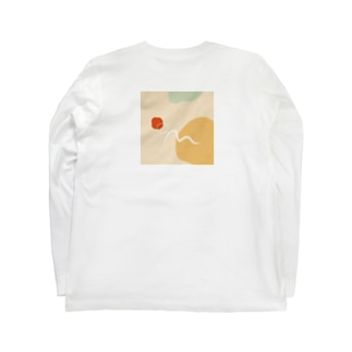 ニョロ Long sleeve T-shirts
