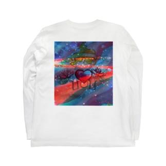 복고풍 패션 Long sleeve T-shirts