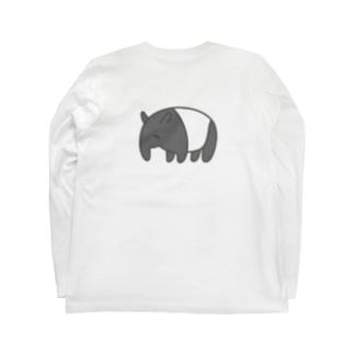 【背面】この夢を Long sleeve T-shirts