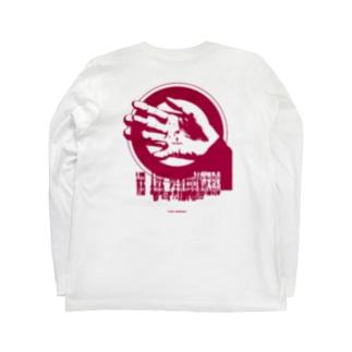 """Red logo series"" Long sleeve T-shirts"