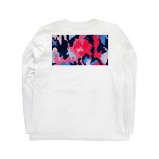 迷彩(色の組み合わせ) Long sleeve T-shirts