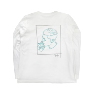 フェードカット Long sleeve T-shirts