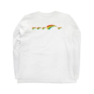 レインボーフィン Long sleeve T-shirts