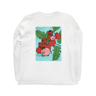 パー子ともち太、また寝てる Long sleeve T-shirts