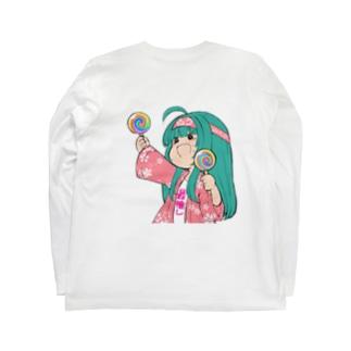 ガチるうヲタク Long sleeve T-shirts