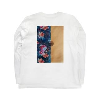 茉果埜ロゴ Long sleeve T-shirts