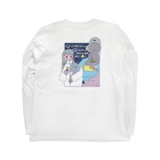 侵略宇宙人 Long sleeve T-shirts