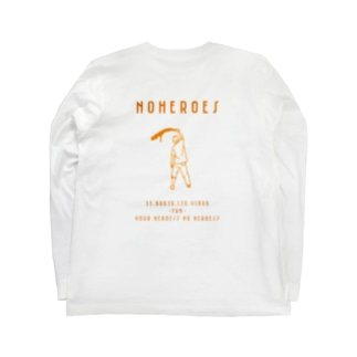 1997 No Heroes  Long sleeve T-shirts