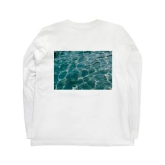 碧 Long sleeve T-shirts