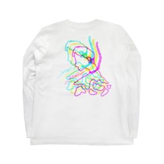 しねないヒト Long sleeve T-shirts