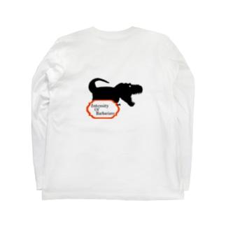 Intensity Of Barbarians ロングTシャツ T-Rex Long sleeve T-shirts