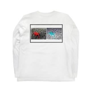 ヒガンバナ Long sleeve T-shirts