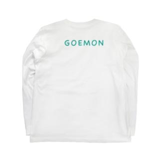 僕が着たいTシャツ屋さんの五右衛門 Long sleeve T-shirtsの裏面