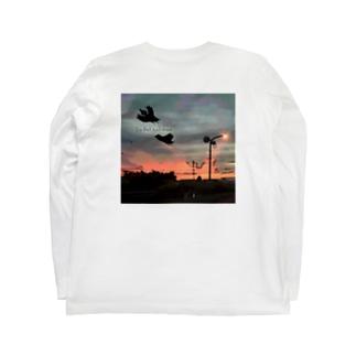ouchi kaero バックプリントのみ Long sleeve T-shirts