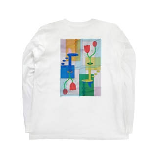 非対称 Long sleeve T-shirts