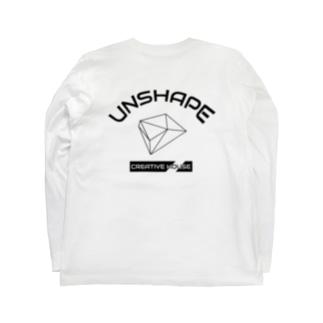 UNSHAPE mix ロングスリーブT Long sleeve T-shirts
