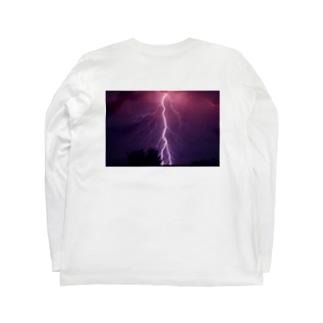 天変地異 Long sleeve T-shirts