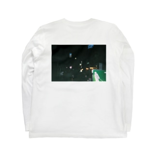 冬の街のロンT Long sleeve T-shirts