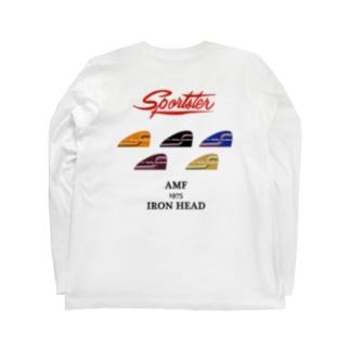 スポーツスター アイアン 1975 レインボー Long sleeve T-shirts
