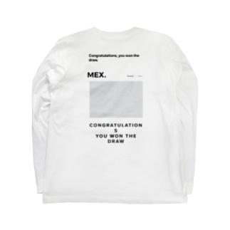 ドローデザイン Long sleeve T-shirts