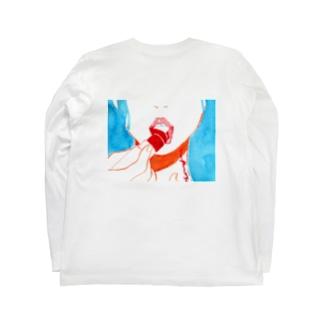 口紅 Long sleeve T-shirts