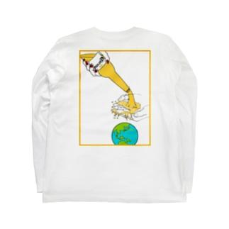 LINKS コロナに負けるなロングTシャツ Long sleeve T-shirts