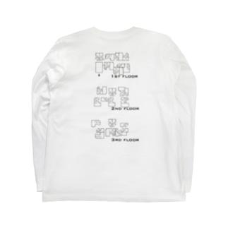 中間講評Tシャツ白 Long sleeve T-shirts