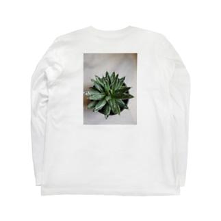 アガベ Long sleeve T-shirts