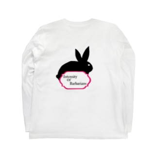 Intensity Of Barbarians ロングTシャツ Rabbit Long sleeve T-shirts