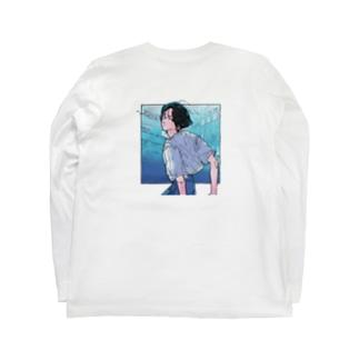 センターパートの彼 - take2 Long sleeve T-shirts
