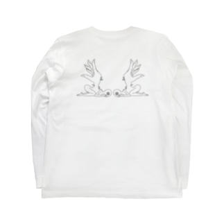 5th dimension angels Long sleeve T-shirts
