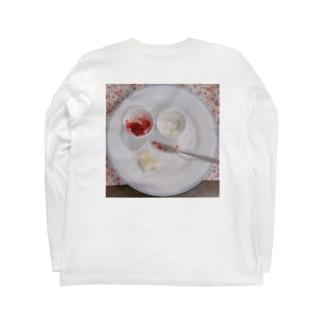 Spoonfulのティーのあと Long sleeve T-shirts